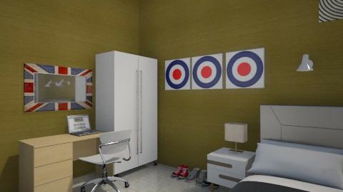 gold e pop 4 - Minimal - Bedroom - by herjantofarhan