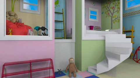 Kids climbing room - Kids room - by froggy62