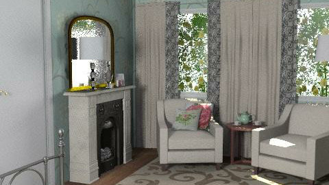 Cotswolds-Master Bedroom - Eclectic - Bedroom - by Theadora