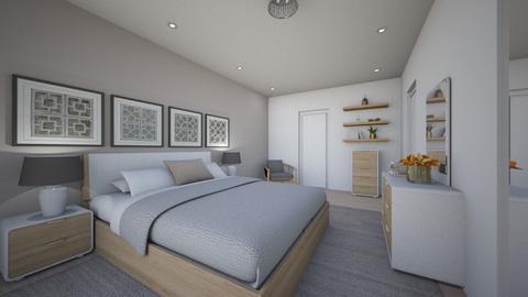 For simiia II - Eclectic - Bedroom - by Theadora