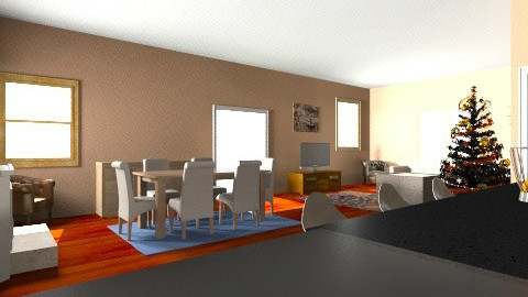Dining room 1 - Dining room - by Aliahamr