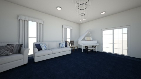 lounge room  - by Chix Ovenden