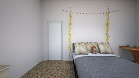 african animal room theme - Bedroom - by kaylee_kmk