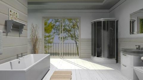 White bathroom - Minimal - Bathroom - by Laurika