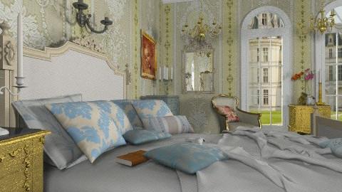 Mozart Bedroom - Classic - Bedroom - by Bibiche