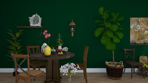 Green - by ArtHousedeco