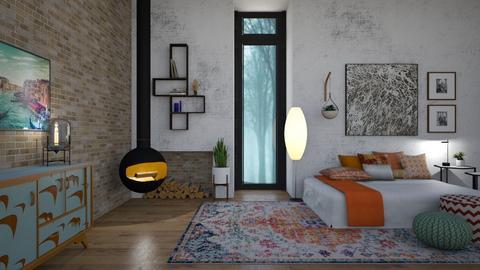 EBR - Bedroom - by rickglassinteriors