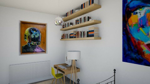 room - Bedroom - by Astriid Ramos