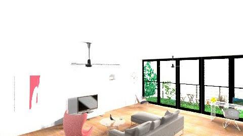 Loft Room - Minimal - Living room - by GinaG3