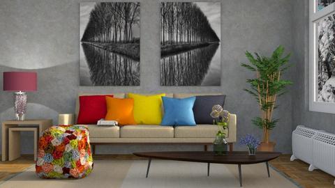 Color Me  - Modern - Living room - by Gurns