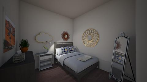 Cozy Bedroom - Modern - by tristagehris