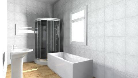 Szarka Adrienn - Country - Bathroom - by szarkaadrienn