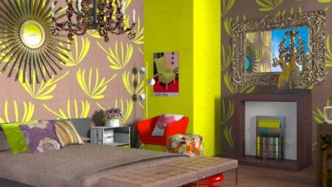 He is bold - Eclectic - Bedroom - by carolinafer