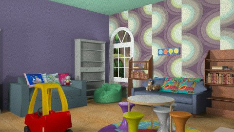 Kids PlayRoom - Minimal - Kids room - by DiamondJ569