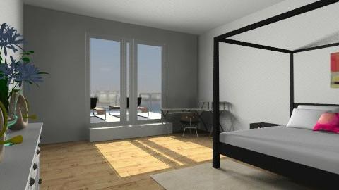Brighton bedroom - Bedroom - by Bekarr