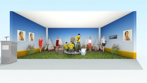 Great Plains Indians Memo - Garden - by devonsia
