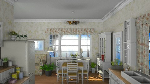Country Kitchen - Country - Kitchen - by Bibiche