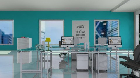 office company - Modern - Office - by Natalia15