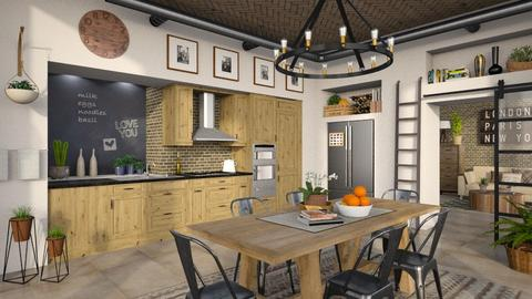 IP Artisan Kitchen - Kitchen - by LB1981