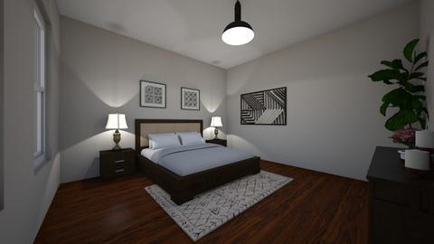 Master Bedroom - Bedroom - by MonseMireles