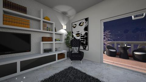 zebra 3 - Living room - by virgen