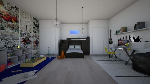 15 and 7 together - Bedroom - by antonieta123