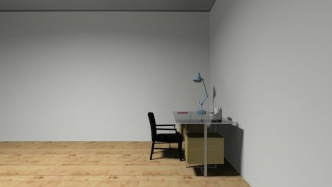 office not finished - by Joni Haan