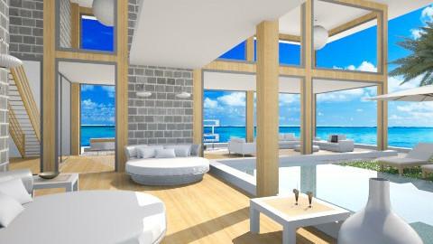 Tropical Beach Villa - by Vita17