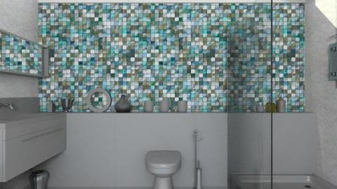Simple - Modern - Bathroom - by chloedaniella