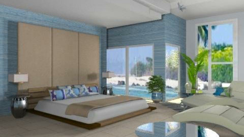 On the coast - Eclectic - Bedroom - by liling