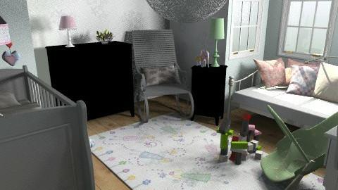 Fairytale Nursery - Classic - Kids room - by kelleigh