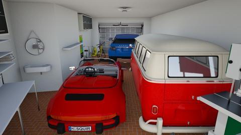 De Ferrari F Garage 3 - by tranke