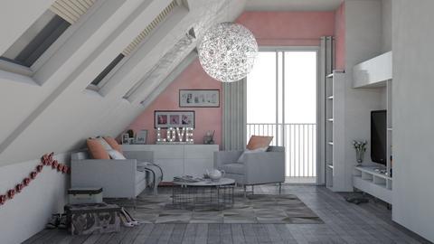 LOFT LIVING ROOM - Bedroom - by sillvie