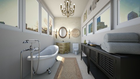 Regular  Bath - Classic - Bathroom - by DiamondJ569