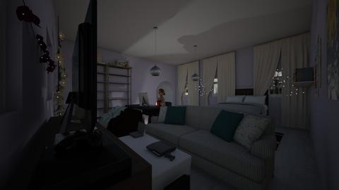 Room - Modern - Bedroom - by kebab123