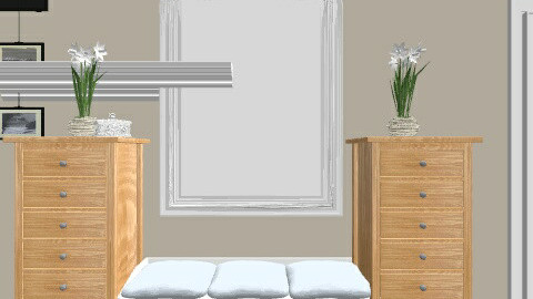 Neutral Cozy  - Bedroom - by tinkerem91900