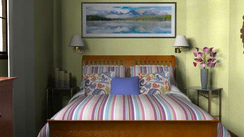 Cotswold 1 - Classic - Bedroom - by Theadora