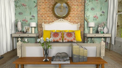 Eclectic Asian - Eclectic - Bedroom - by Baustin