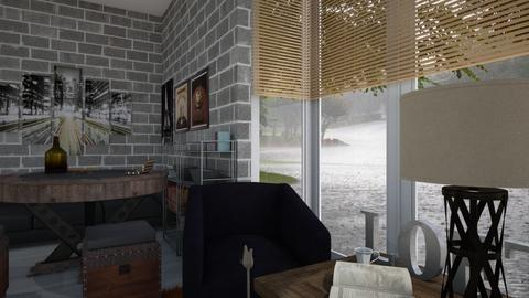 comfy in the rain _ remix - Modern - Living room - by PAPIdesigns