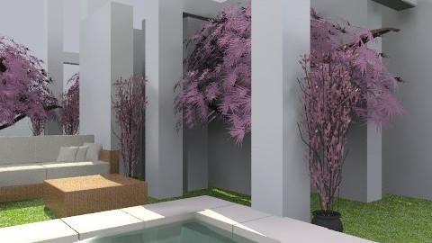 Purple tree - Modern - Garden - by hunny