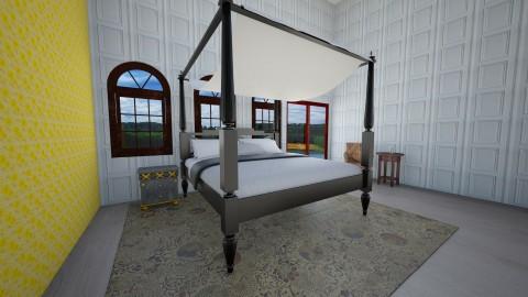 Versailles Room - Bedroom - by Cecily Reid