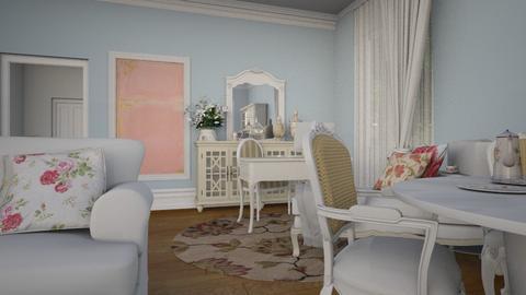 white 02 - Living room - by Eterea