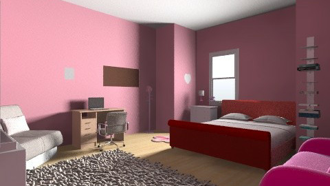 cuteeee  - Feminine - Bedroom - by prettygurlmya
