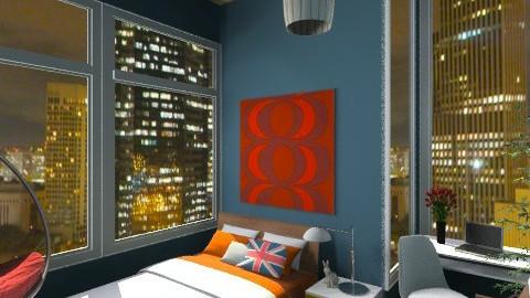 city light - Bedroom - by LuthfiRose