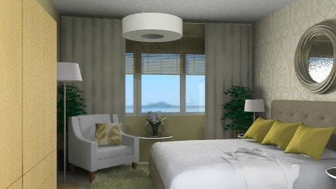 Matliy Bedroom - Eclectic - Bedroom - by channing4