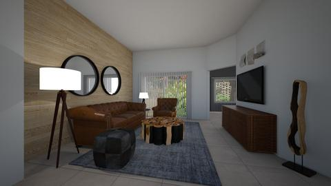 Daisy de Arias Marscielle - Masculine - Living room - by Daisy de Arias