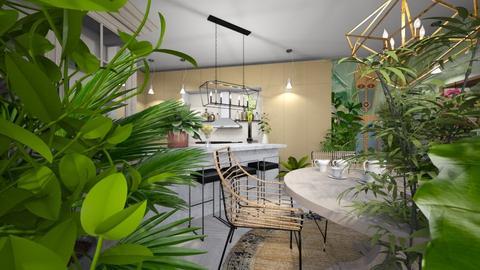 plants - Kitchen - by ana111