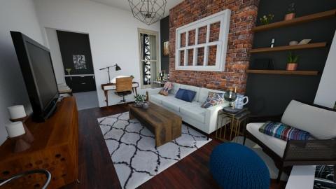 Living Room - by Gillian Rene