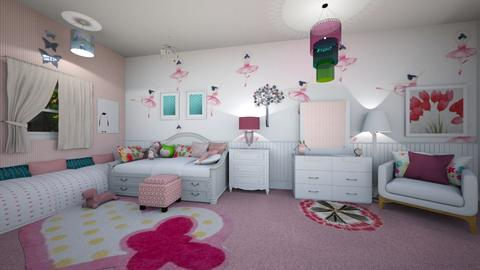 Girly room - Kids room - by ashpashly