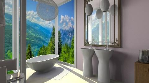 Kasha bathroom - Glamour - Bathroom - by anjuska9